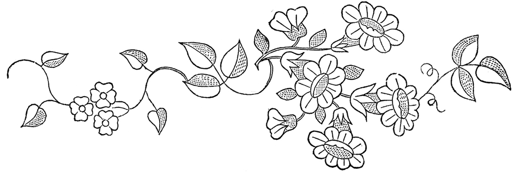 How To Make An Embroidery Pattern Hand Embroidery Patterns Digitemb