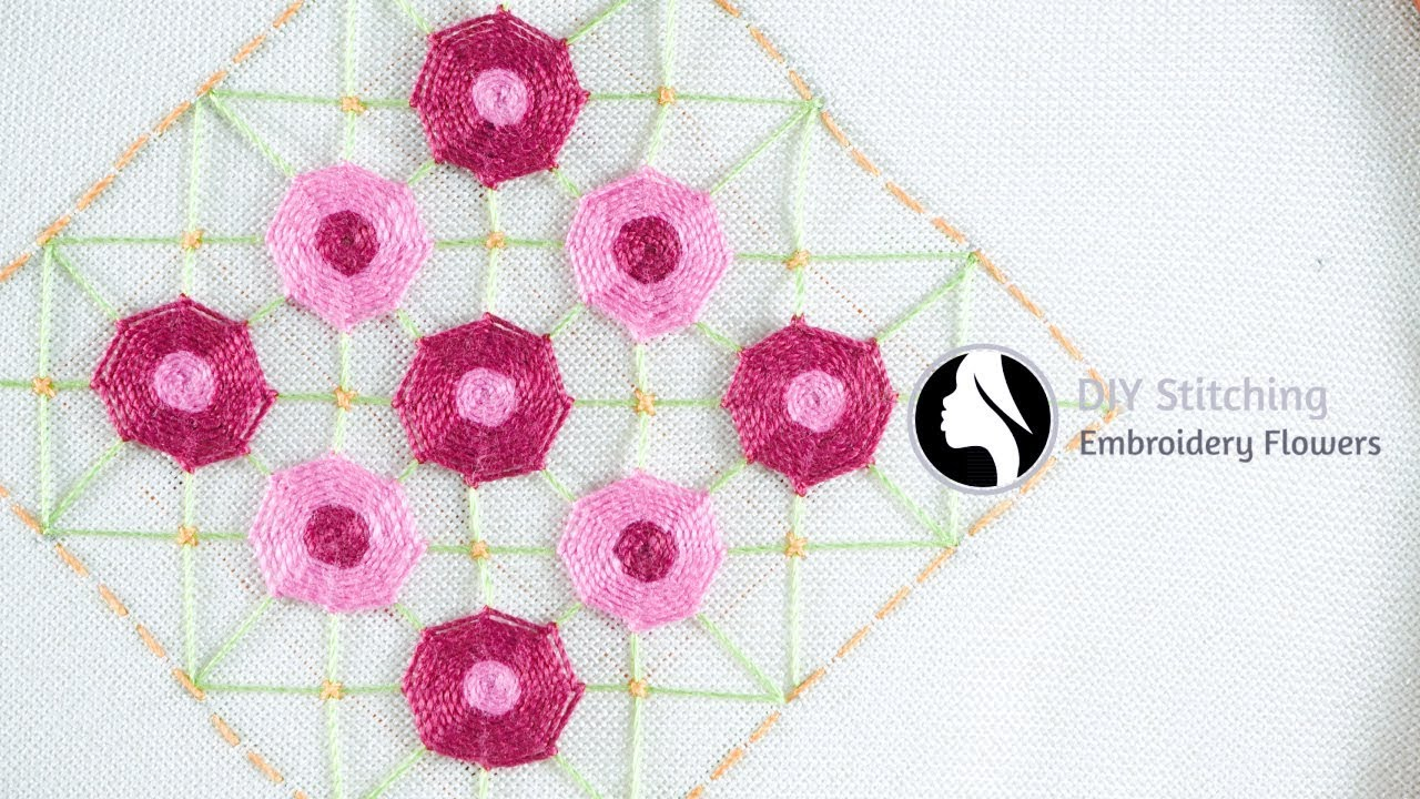 How To Read Embroidery Patterns Easy Hand Embroidery Designs Diy Stitching 18