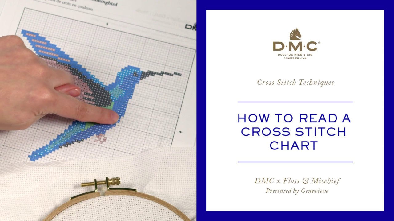 How To Read Embroidery Patterns How To Read A Cross Stitch Chart Tutorial