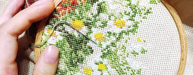 How To Read Embroidery Patterns How To Read A Cross Stitch Pattern