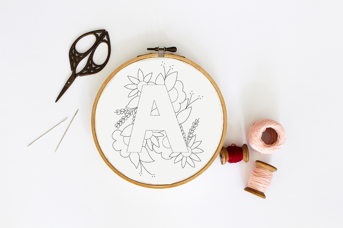 How To Read Embroidery Patterns Tata Sol How To Transfer Embroidery Patterns To Fabric Using Home