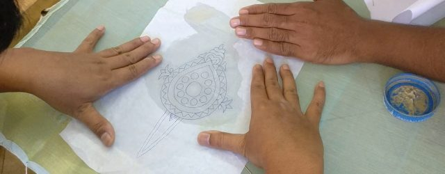 How To Transfer Embroidery Pattern How To Transfer Embroidery Design Pattern Onto The Fabric