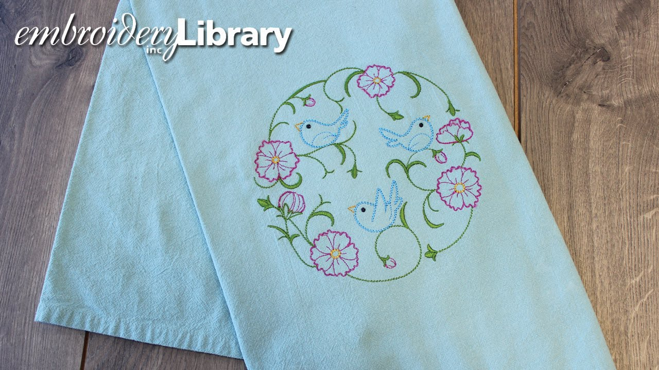 Kitchen Towel Embroidery Patterns Embroidering On Floursack Kitchen Towels