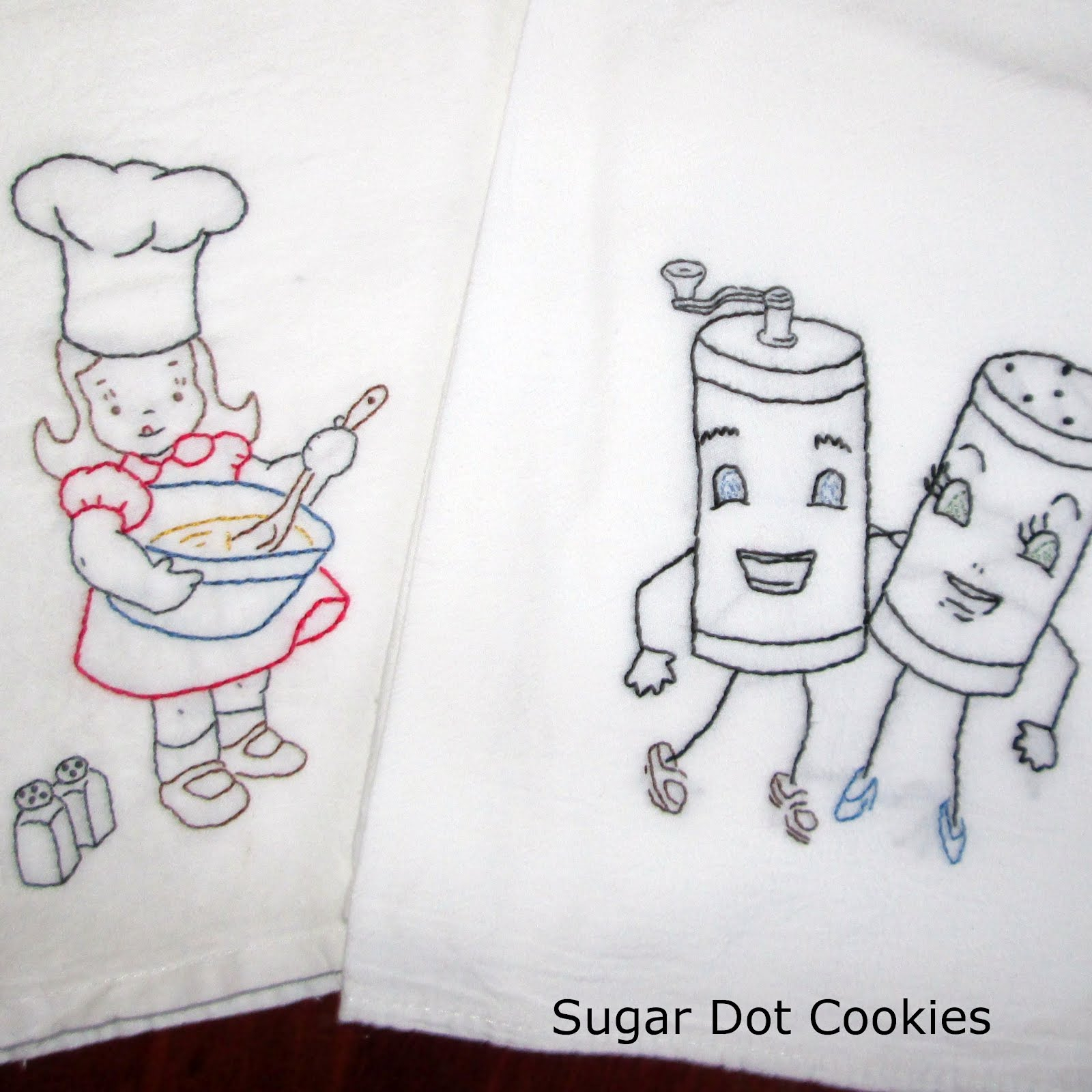 Kitchen Towel Embroidery Patterns Kitchen Embroidery Designs Troop138