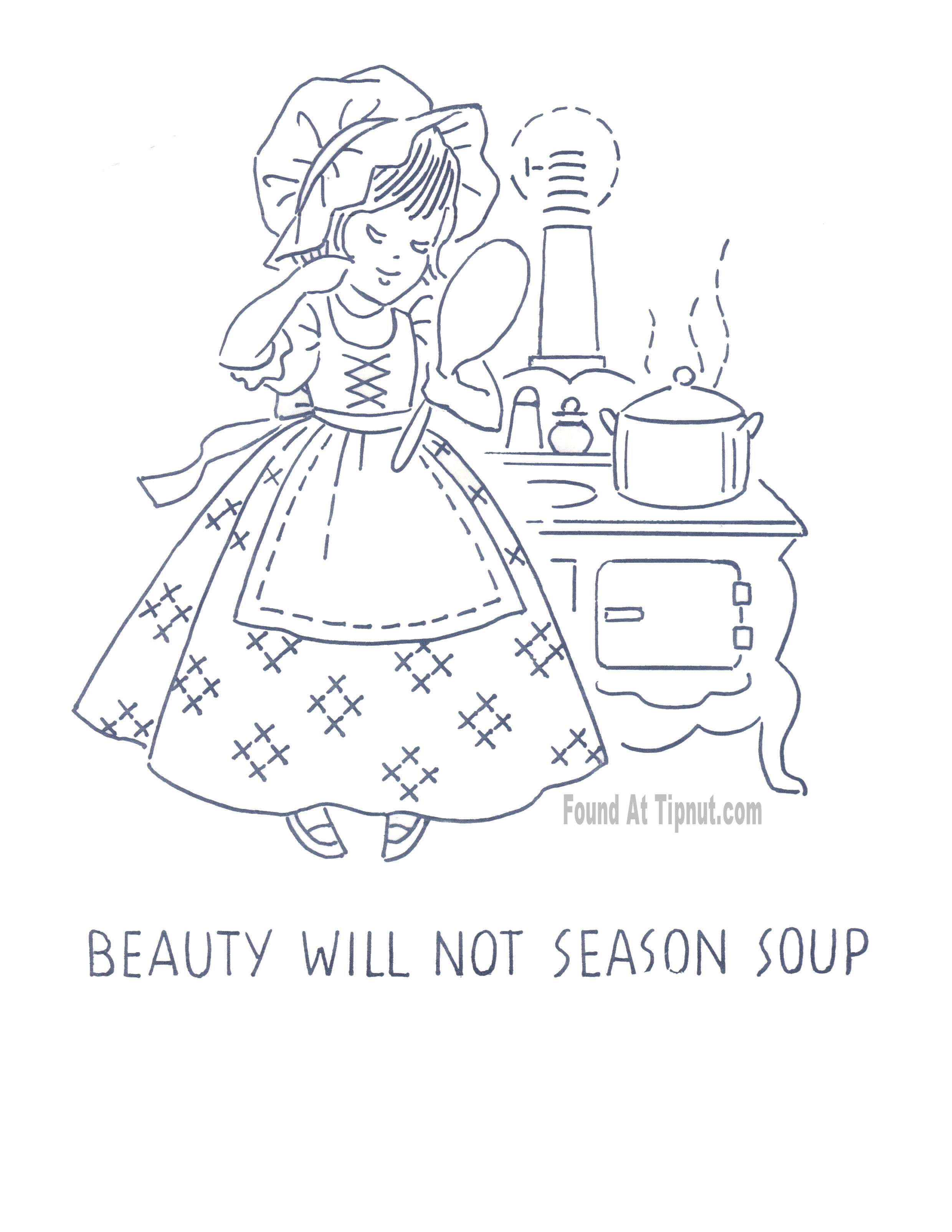 Kitchen Towel Embroidery Patterns Kitchen Proverbs Embroidery Patterns Complete Set Tipnut