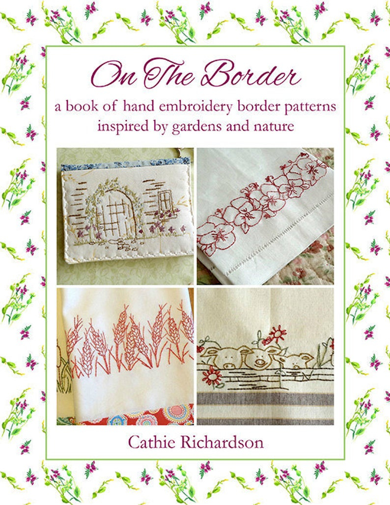 Kitchen Towel Embroidery Patterns Kitchen Towels Hand Embroidery Pattern Book