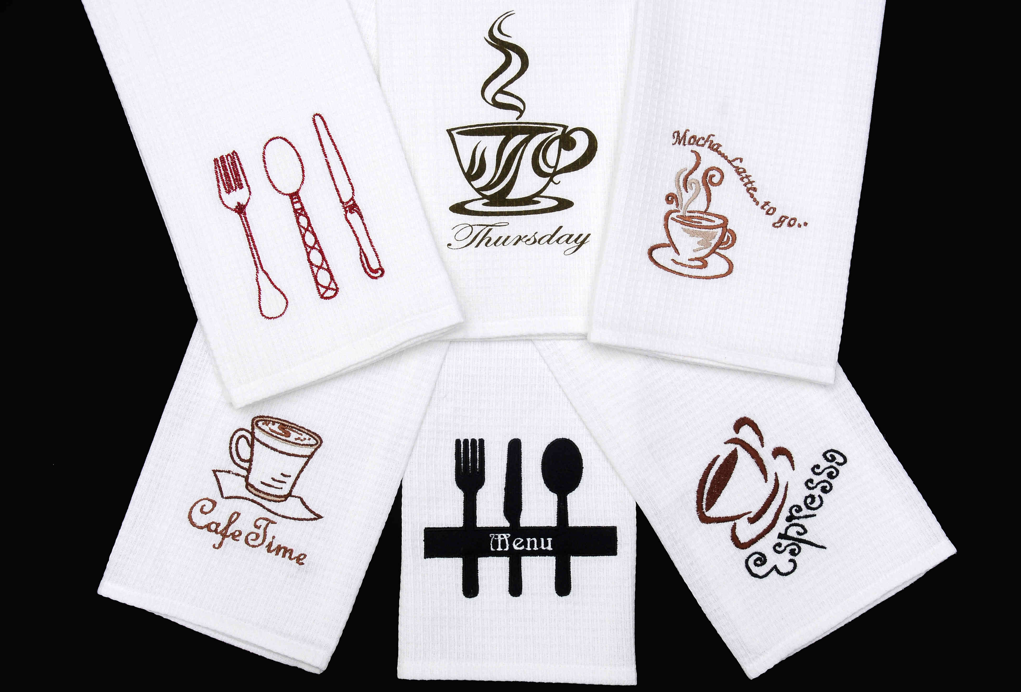 Kitchen Towel Embroidery Patterns Products Style Season Inc