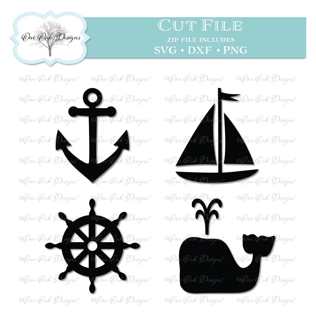 Nautical Embroidery Patterns Nautical Bundle