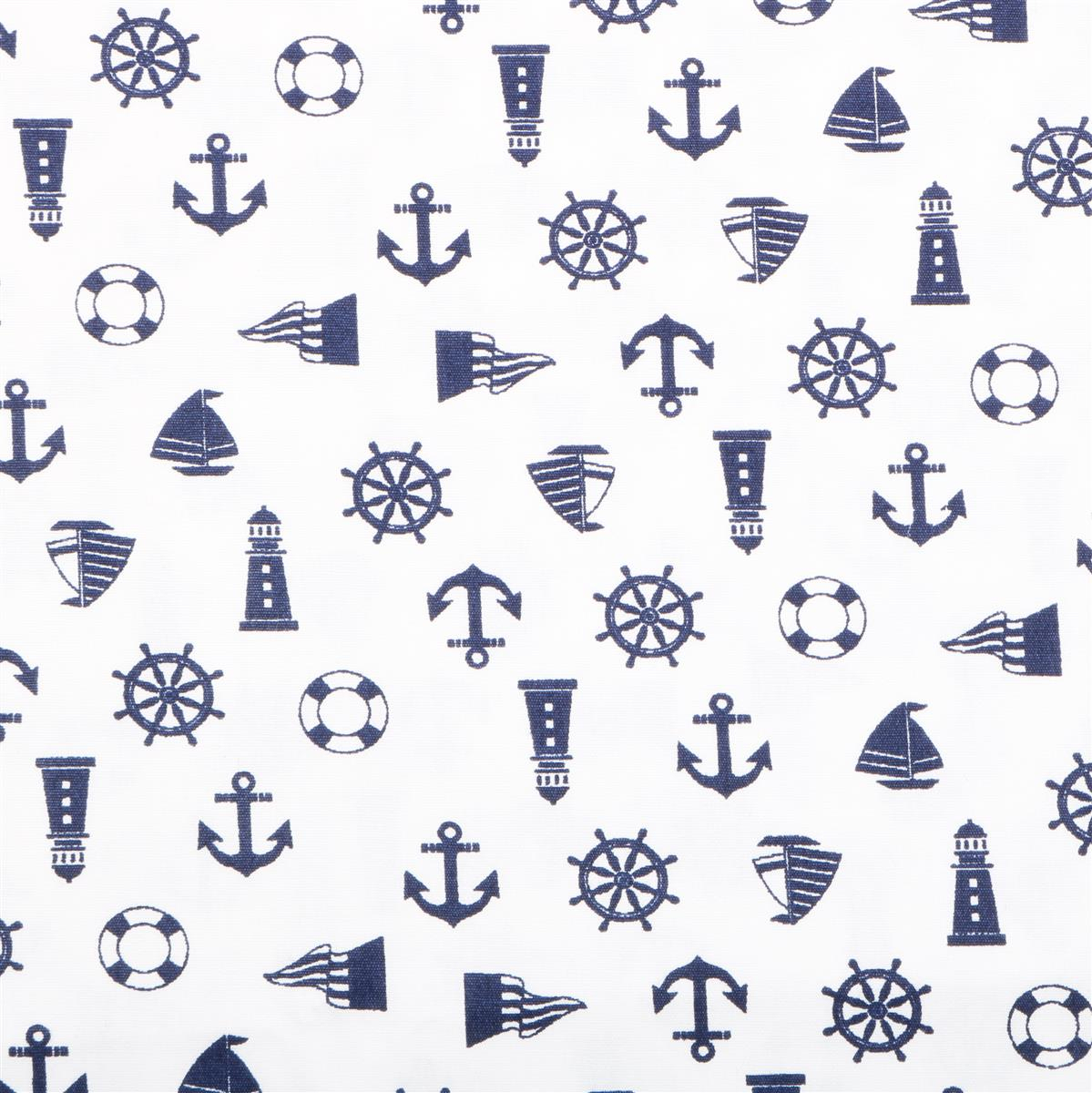 Nautical Embroidery Patterns Nautical Fabric On White Background 05m Was 355