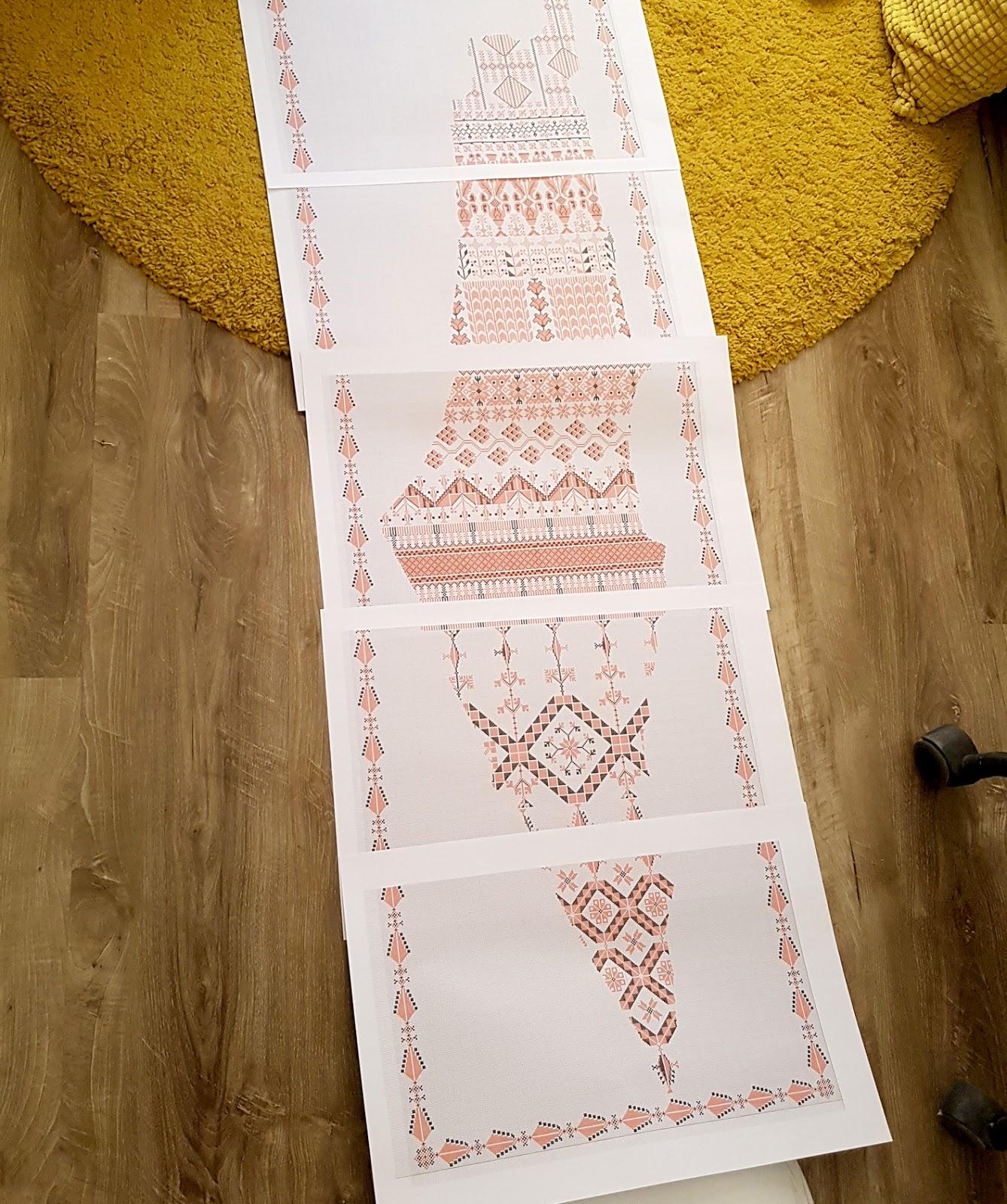 Palestinian Embroidery Patterns Palestinian Parametric Patterns P Parallel Palestinian