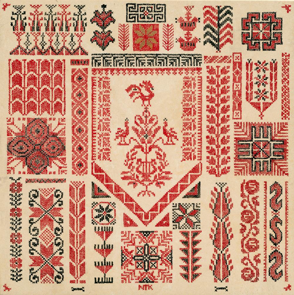 Palestinian Embroidery Patterns Tatreez Najat