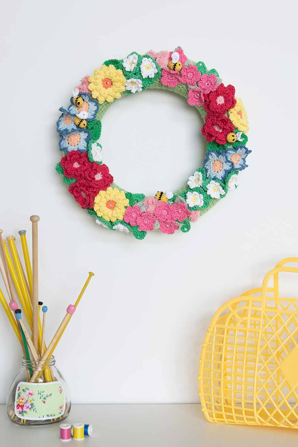 Paper Embroidery Cards Free Patterns 40 Crochet Flower Patterns And What To Do With Them Mollie Makes