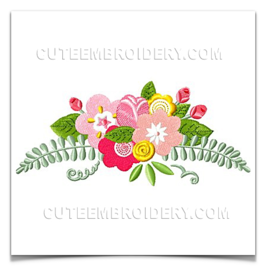 Paper Embroidery Cards Free Patterns Free Embroidery Design Flowers I Sew Free