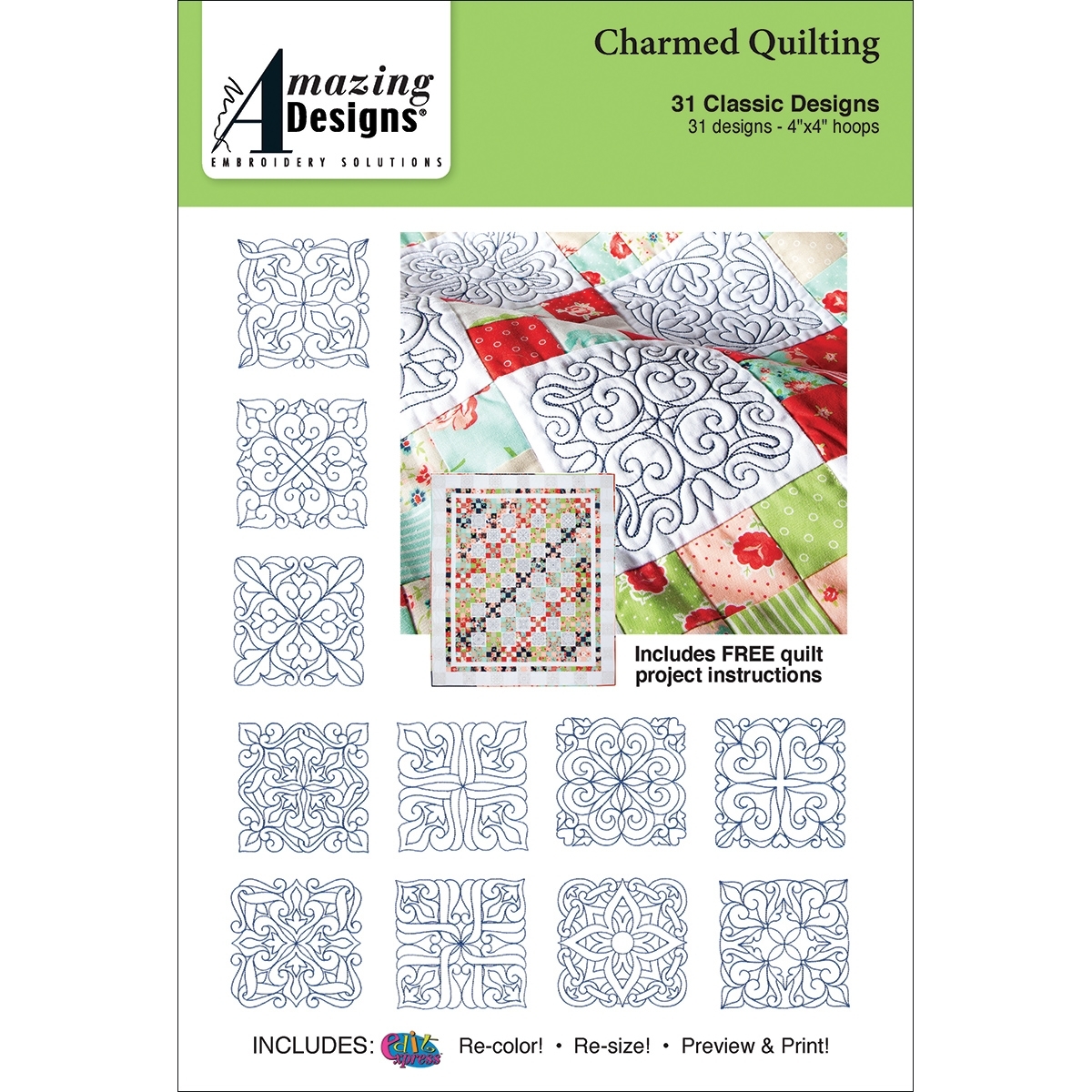 Paper Embroidery Cards Free Patterns Machine Embroidery For Quilting Quilting
