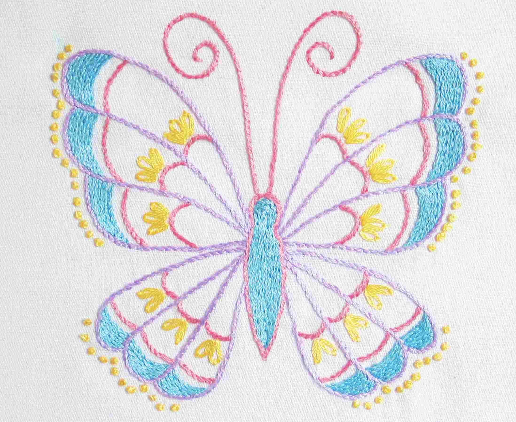 Paper Embroidery Cards Free Patterns Our Top 25 Free Embroidery Designs