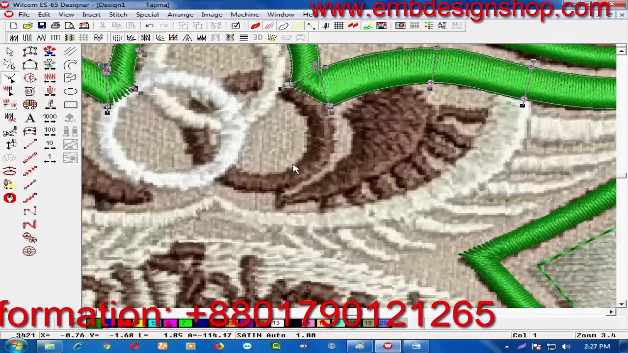 Patterns For Embroidery Machine 3417 Mb How To Make Computer Embroidery Design Embroidery
