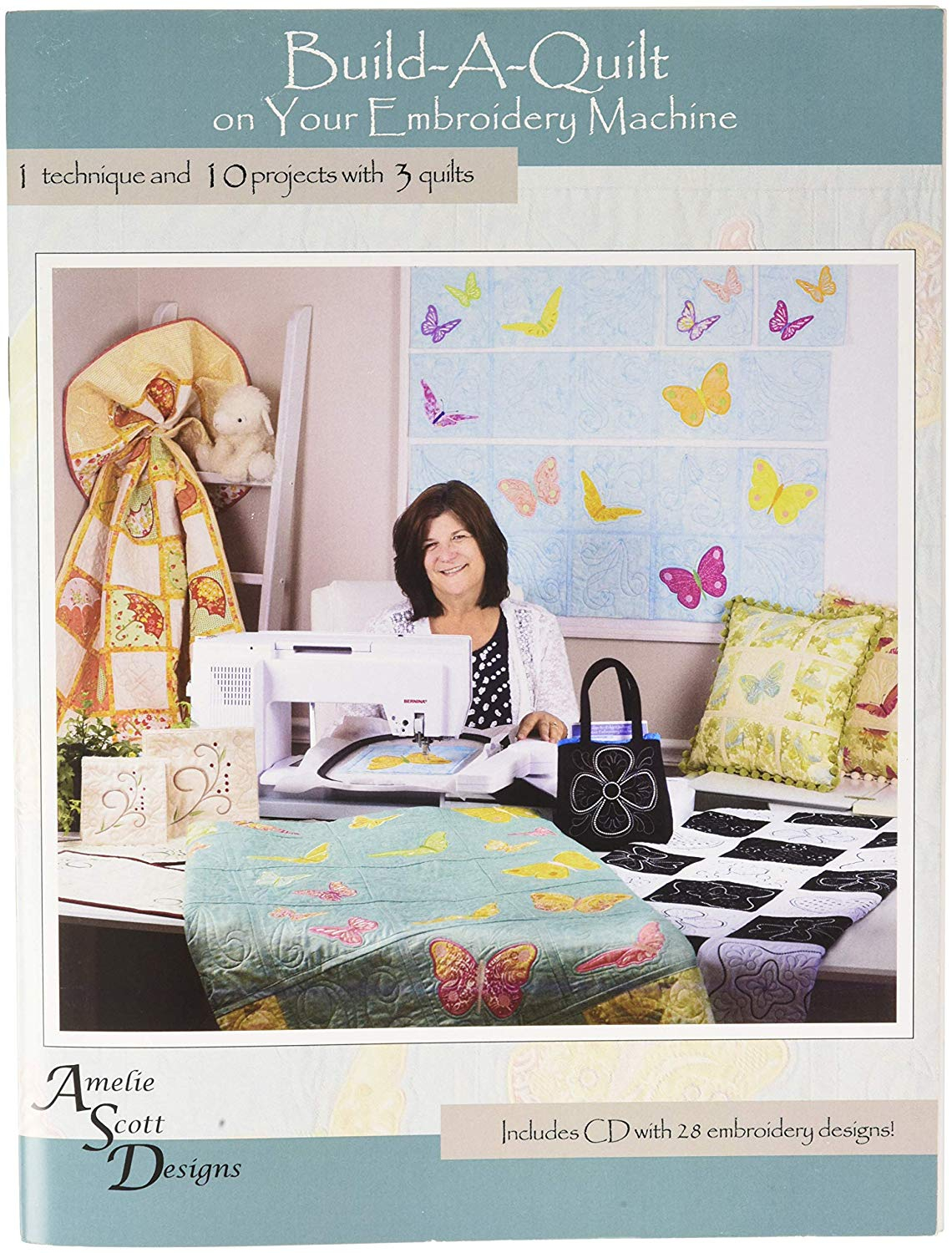 Patterns For Embroidery Machine Build A Quilt Embroidery Machine Design Patterns Cd 10 Projects 3 Quilt Pattern