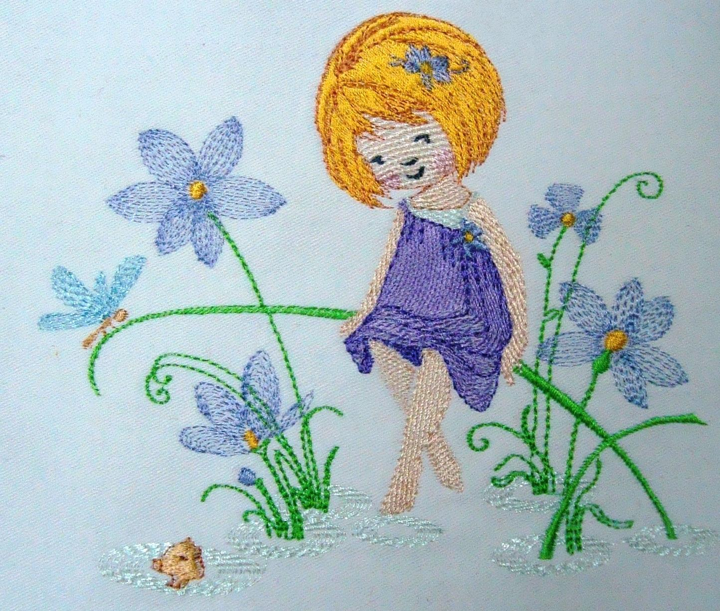 Patterns For Embroidery Machine Flower Fairies Machine Embroidery Designs Flowers Healthy