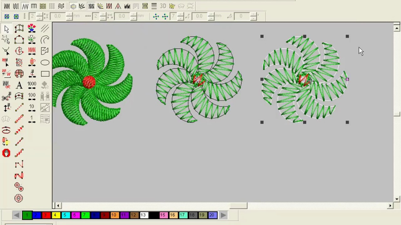 Patterns For Embroidery Machine How To Make Computer Embroidery Design Embroidery Machine Design Pat 21