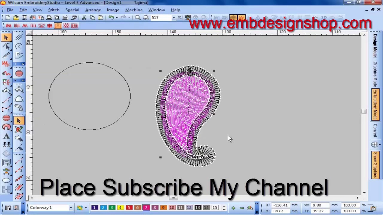 Patterns For Embroidery Machine How To Make Computer Embroidery Design Embroidery Machine Design