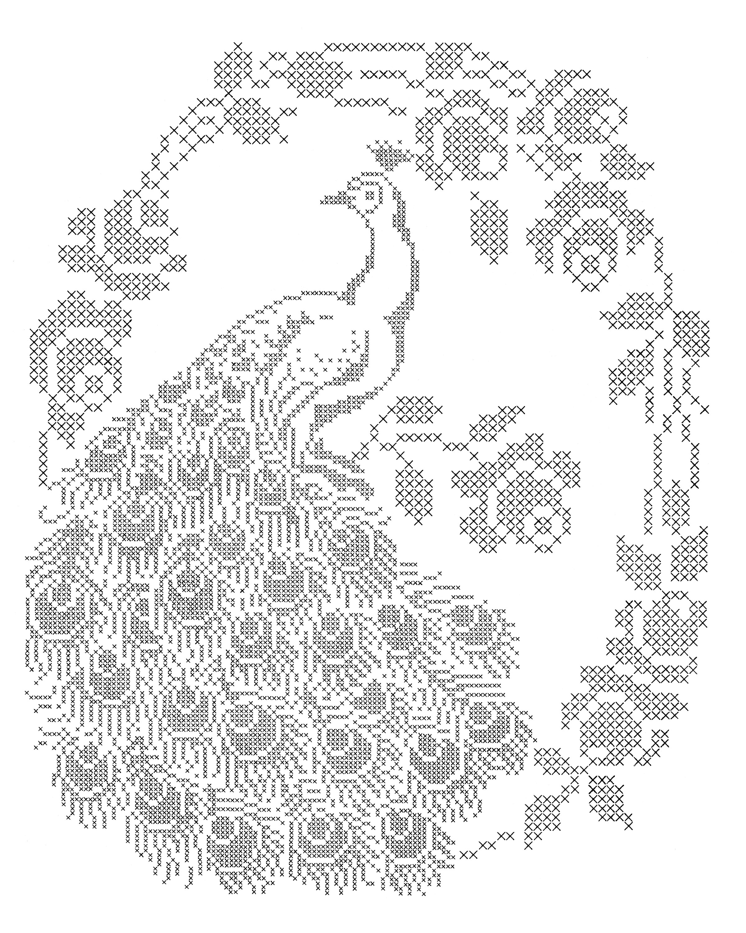 Peacock Embroidery Patterns Laura Wheeler Design 688 Cross Stitch Peacock Q Is For Quilter