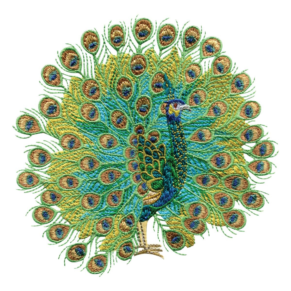 Peacock Embroidery Patterns Peacock Embroidery Design