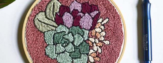 Punch Needle Embroidery Patterns 13 Punch Needle Embroidery Patterns