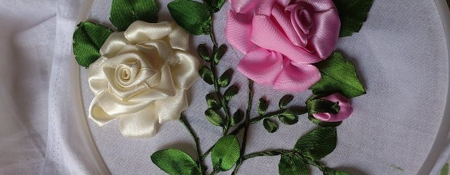 Ribbon Embroidery Flowers Patterns Hand Embroidery Designs Ribbon Embroidery Hand Tutorial Ribbon Roses