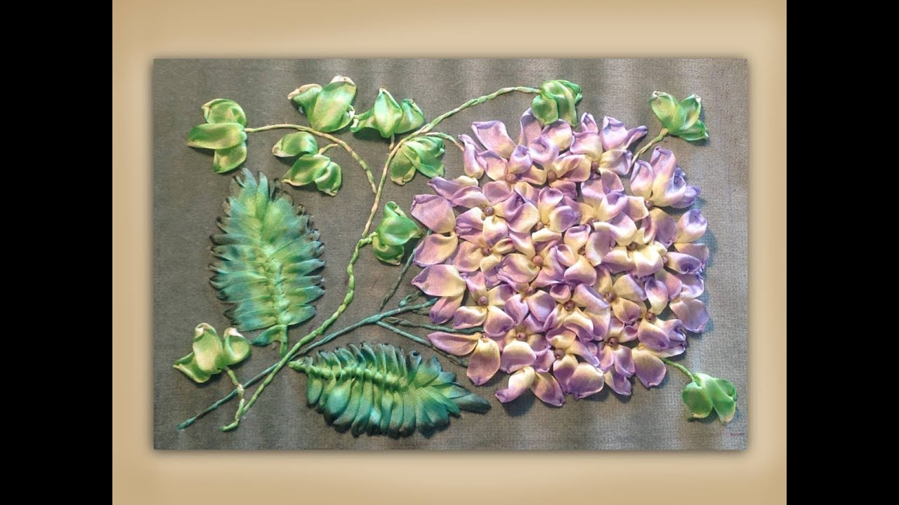 Ribbon Embroidery Patterns Free Embroidery Demonstration Films