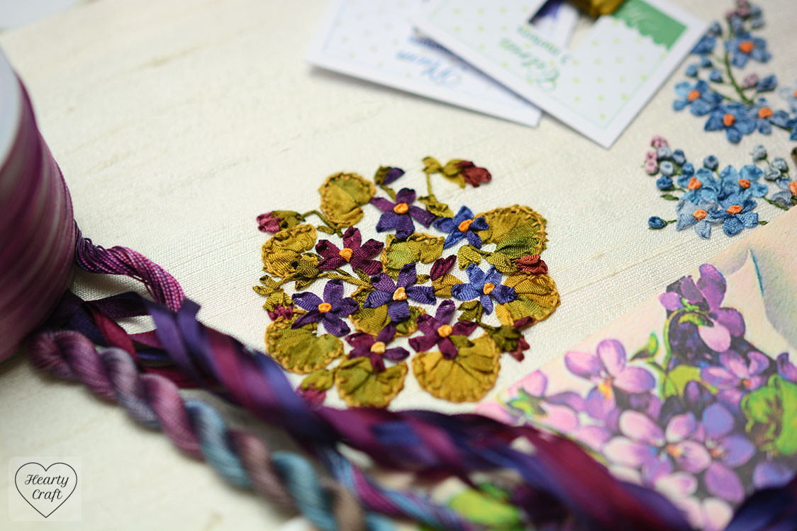 Ribbon Embroidery Patterns Free Hearty Craft Silk Ribbon Embroidery