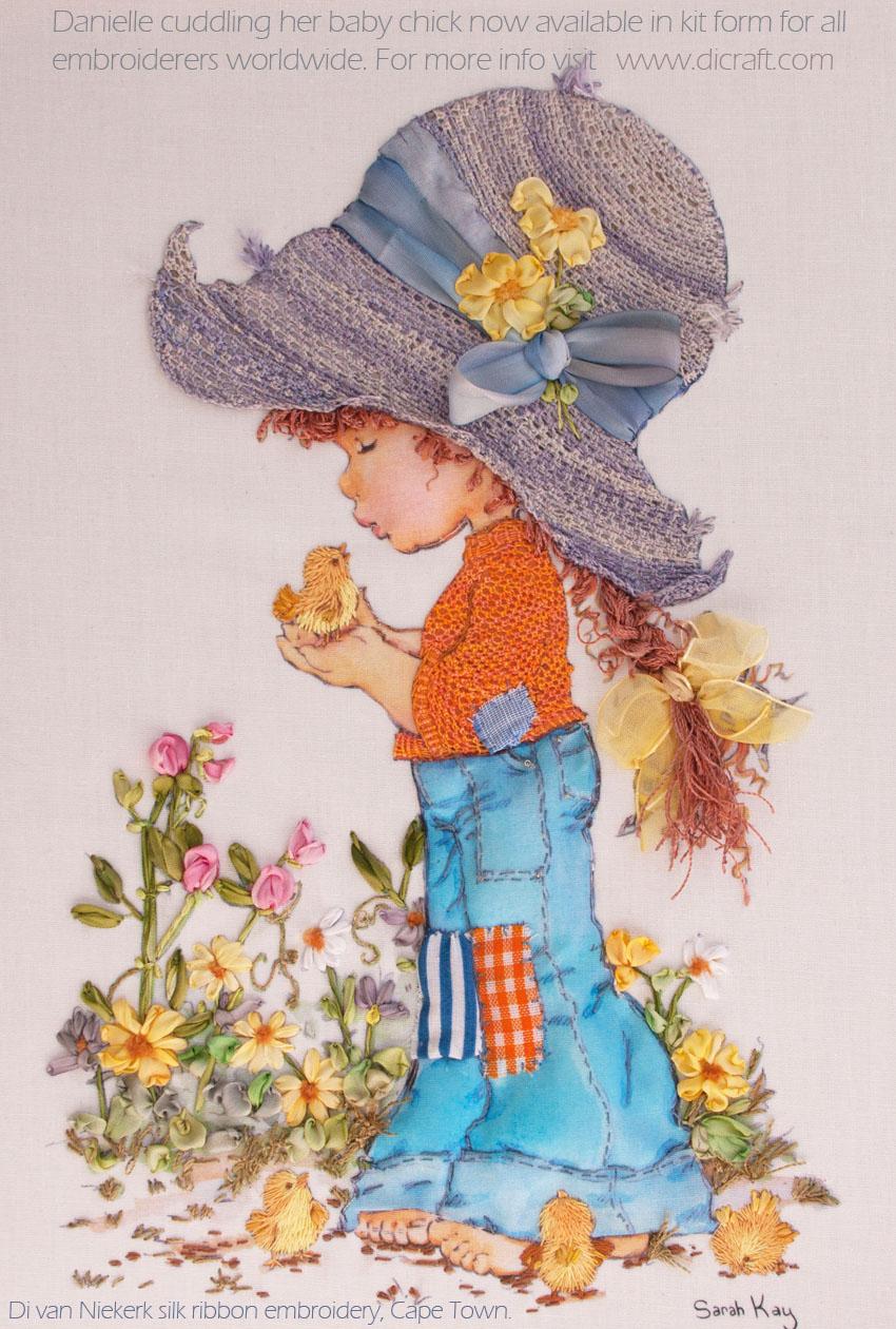 Ribbon Embroidery Patterns Free Sarah Kay Designs For Silk Ribbon Embroidery Di Van Niekerk