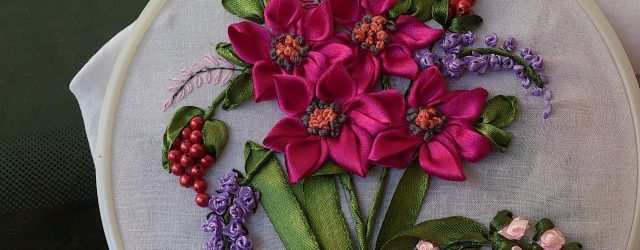 Ribbon Embroidery Patterns Hand Embroidery Designs Ribbon Embroidery Stitches For Beginners