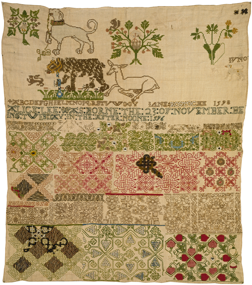 Scandinavian Embroidery Patterns A History Of Samplers Victoria And Albert Museum