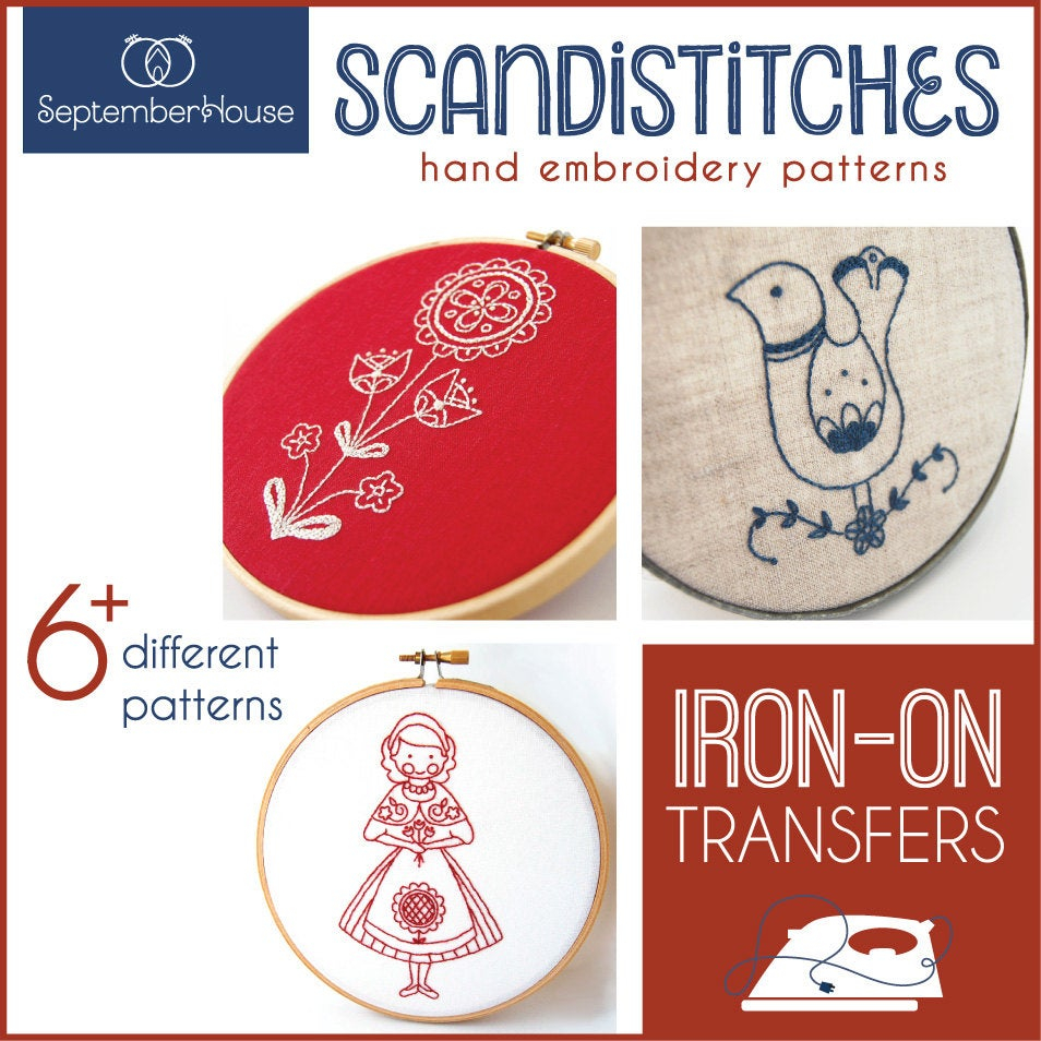 Scandinavian Embroidery Patterns Embroidery Patterns Iron On Transfers Scandistitches Patterns For Hand Embroidery Scandinavian Embroidery Kit