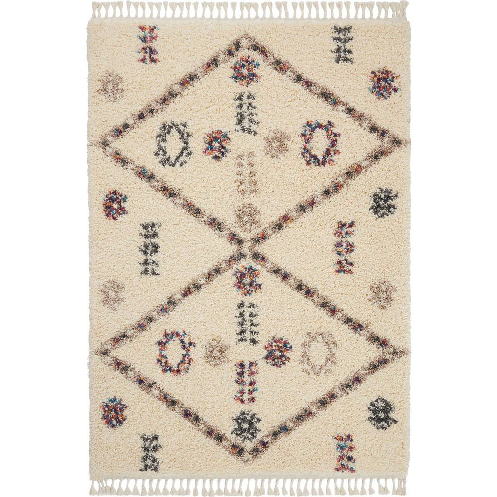 Scandinavian Embroidery Patterns Nourison Nordic Shag 5 X 8 Cream Scandinavian Area Rug