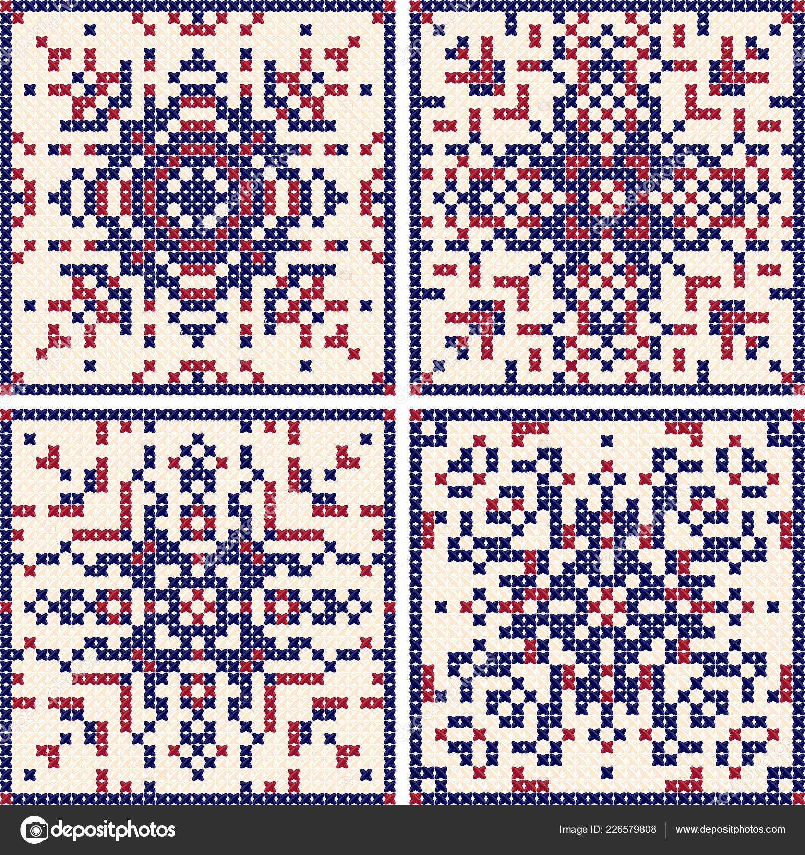 Scandinavian Embroidery Patterns Pattern Cross Stitch Set Scandinavian Patterns Patterns For