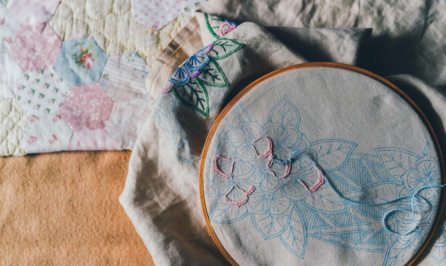 Stamped Embroidery Patterns 5 Simple Ways To Transfer Embroidery Designs