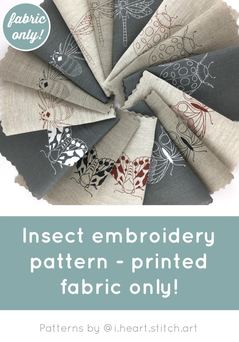 Stamped Embroidery Patterns Embroidery Pattern Fabric Only Printed Embroidery Pattern Modern Hand Embroidery Stamped Cross Stitch Pattern Stamped Embroidery Diy