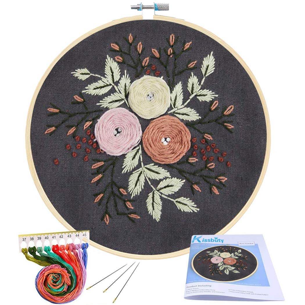 Stamped Embroidery Patterns Embroidery Pattern Rose Free Embroidery Patterns