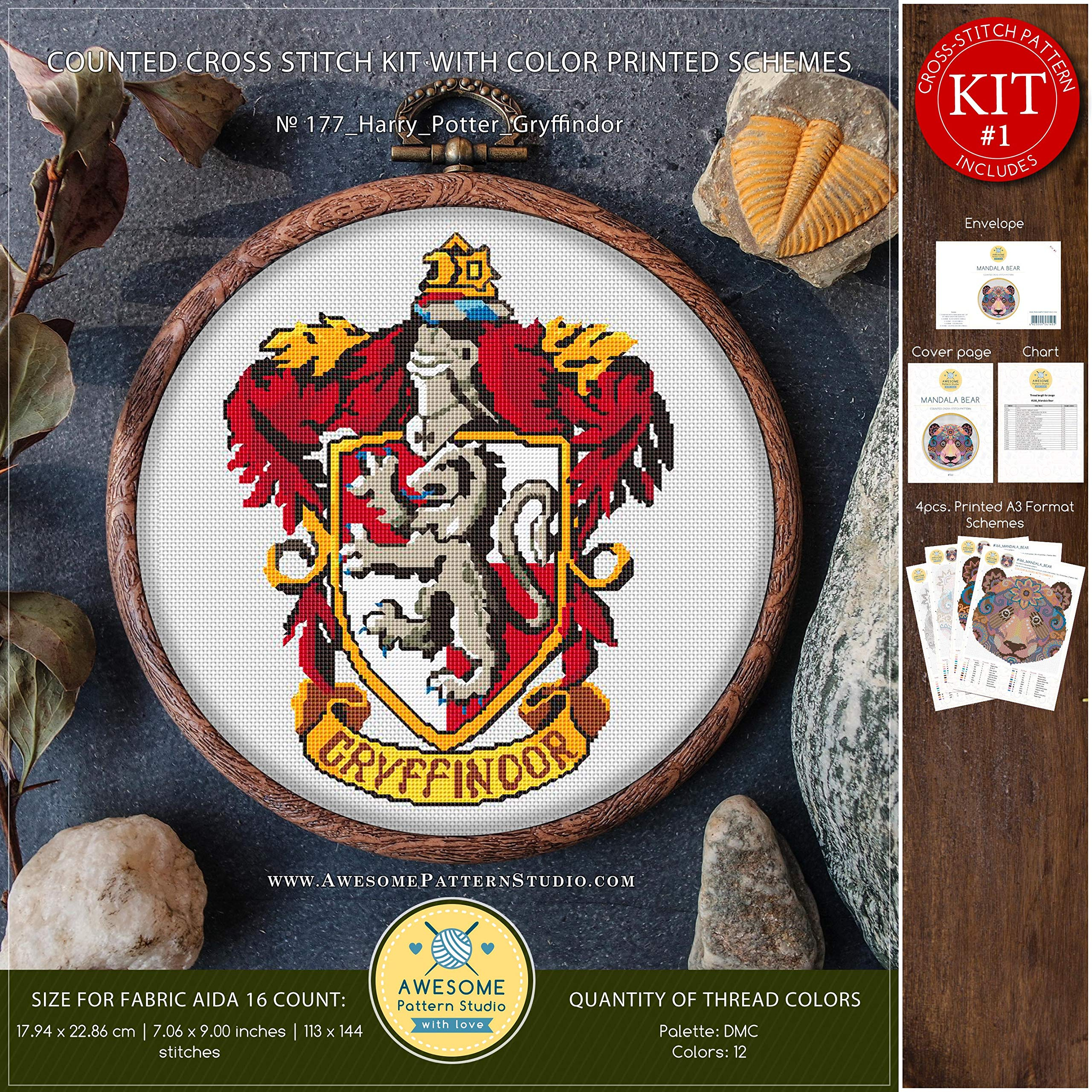Stamped Embroidery Patterns Harry Potter Embroidery Designs Free Embroidery Patterns