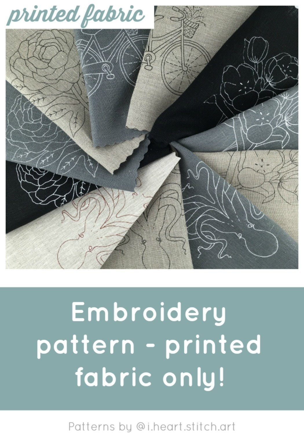 Stamped Embroidery Patterns Pattern For Hand Embroidery Fabric Only Embroidery Pattern Cross