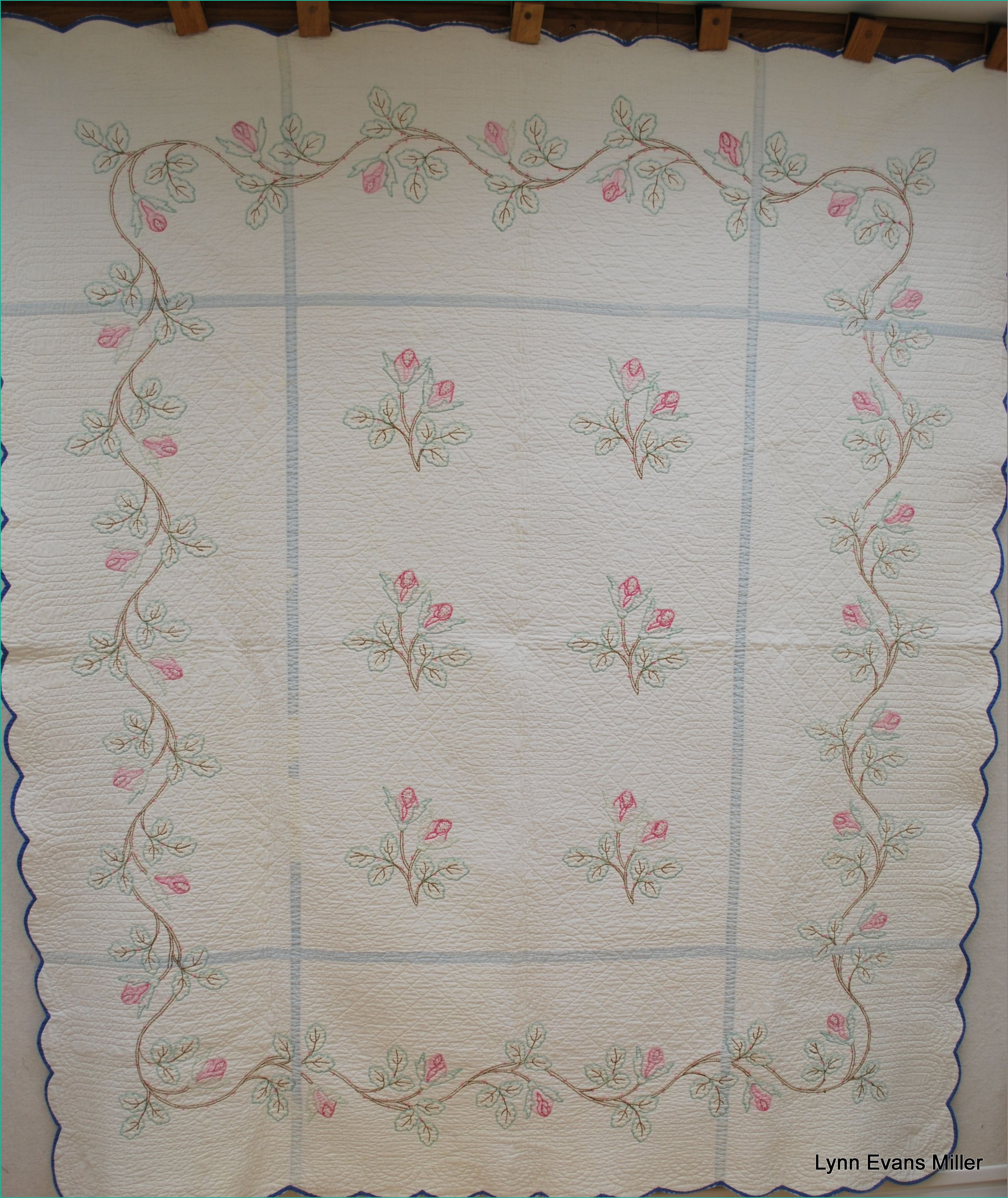 Stamped Embroidery Patterns Pre Stamped Quilt Blocks For Hand Embroidery Easy 35 R Bucillia