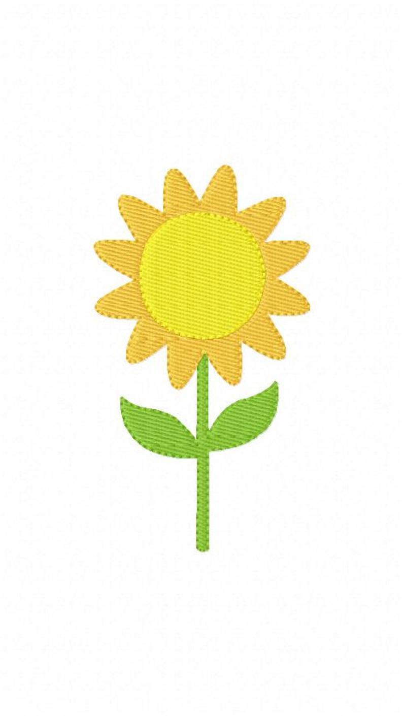 Sunflower Embroidery Pattern Sunflower Embroidery Design Machine Embroidery Designs Flower Embroidery Design Sunflower Joyful Stitches