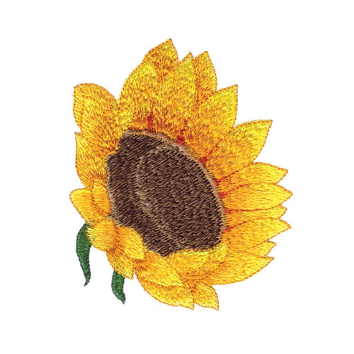 Sunflower Embroidery Pattern Sunflower Embroidery Design